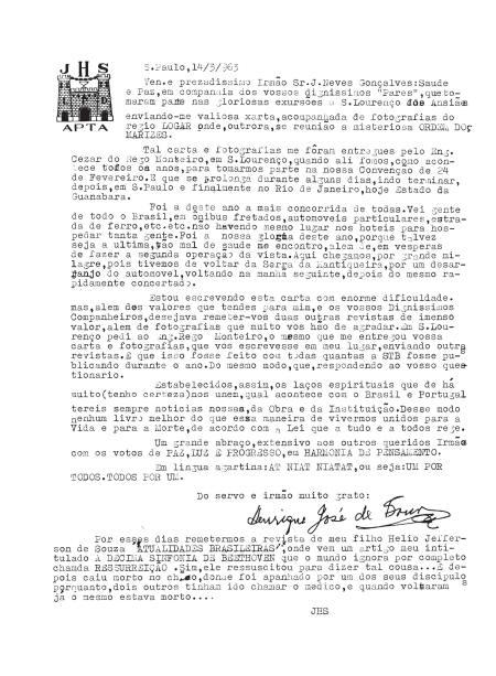 carta1963.3.14JHS